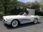 1961 Corvette Convertible For Sale