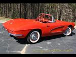 1961 Corvette Convertible For Sale