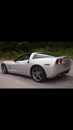 2007 Corvette T-Top For Sale