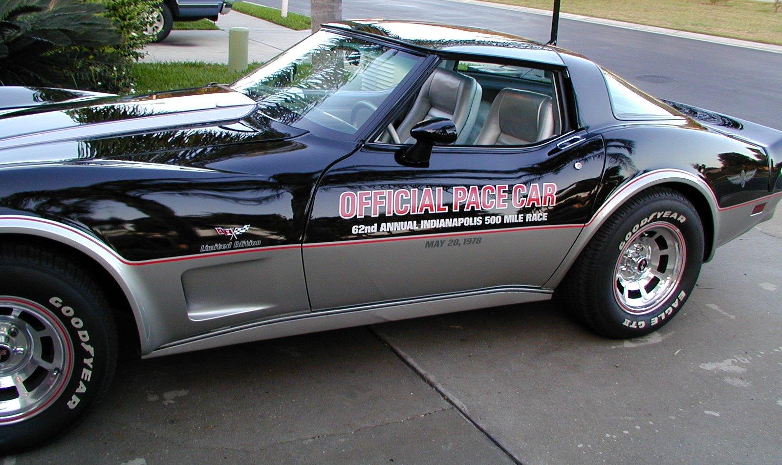 1978 pace car corvette project. Black Bedroom Furniture Sets. Home Design Ideas