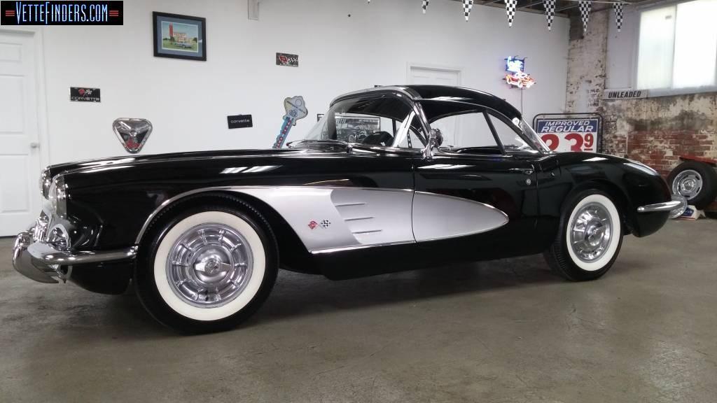 1958 corvette for sale missouri 1958 corvette convertible corvette for sale in missouri. Black Bedroom Furniture Sets. Home Design Ideas