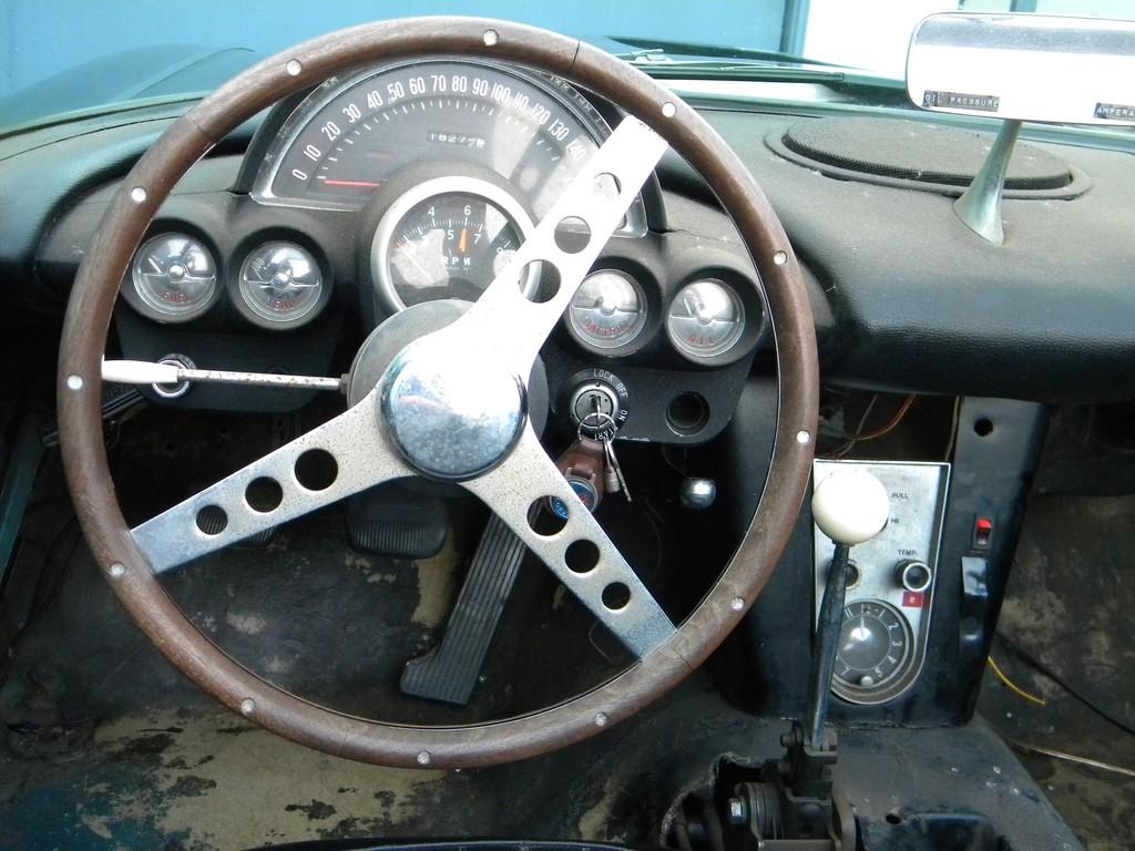 corvette 1958 cab