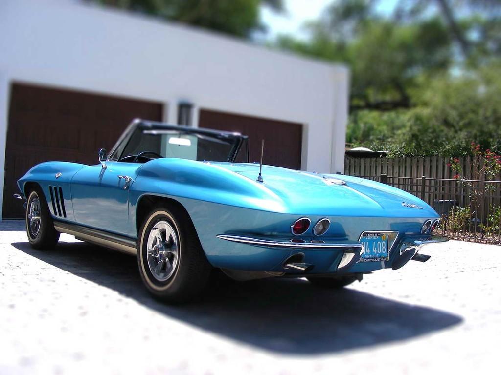 65 Corvette Convertible For Sale