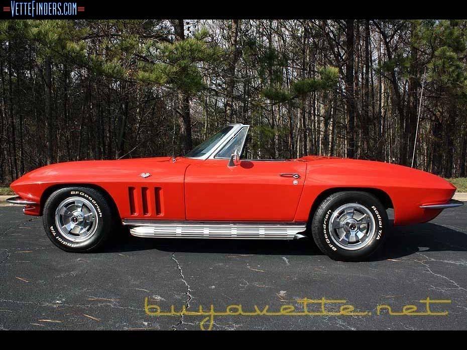 66 Corvette Convertible