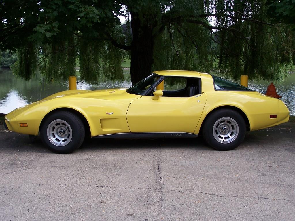 Fs 1979 Yellow Corvette T Top In Il 14 000 Obo
