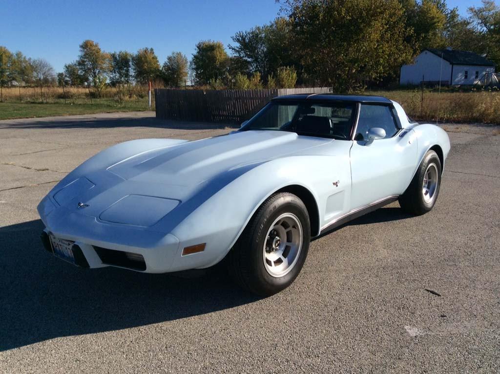 Fs One Owner Light Blue 1979 Corvette In Il 10 000 Or