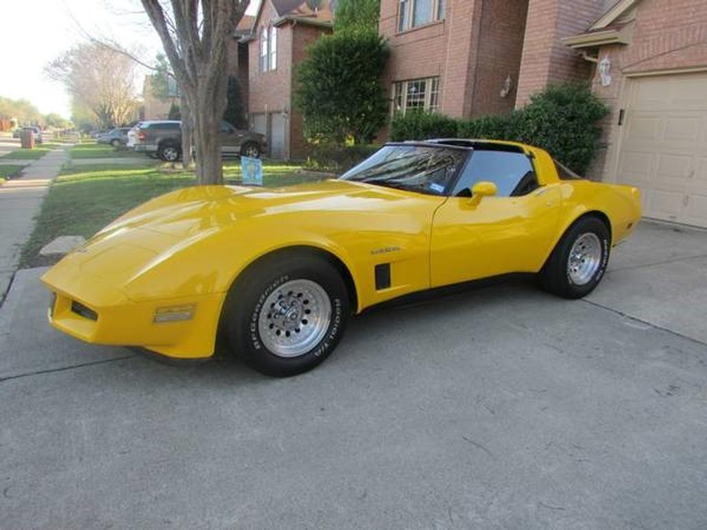 1982 corvette for sale texas 1982 corvette t top corvette for sale in texas. Black Bedroom Furniture Sets. Home Design Ideas