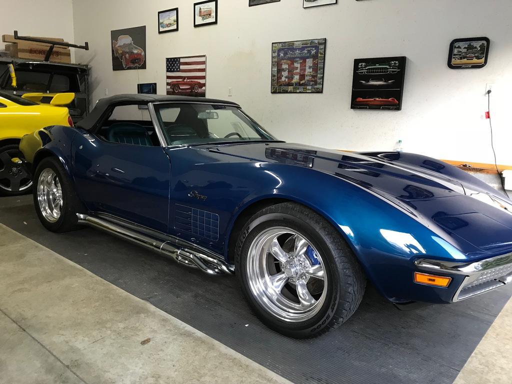 fs for sale 1970 laguna blue corvette convertible in nc 45 000 corvetteforum chevrolet. Black Bedroom Furniture Sets. Home Design Ideas