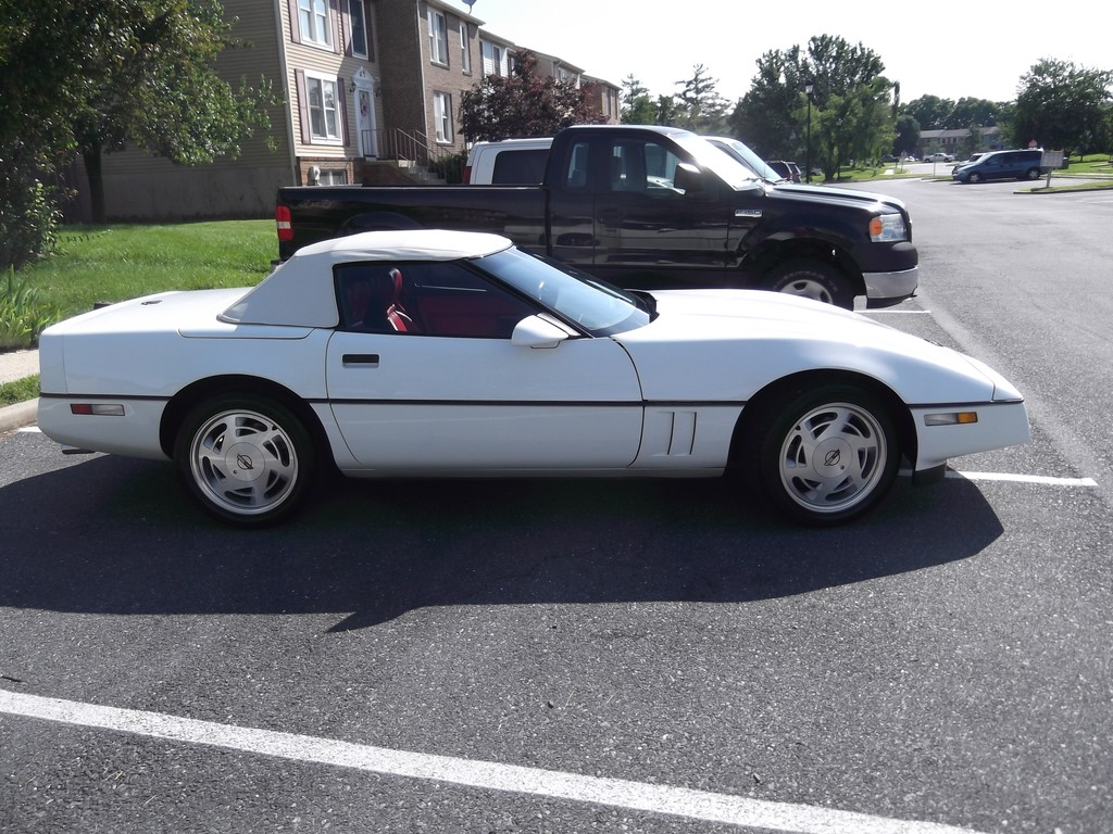 1989 corvette for sale maryland 1989 corvette. Black Bedroom Furniture Sets. Home Design Ideas