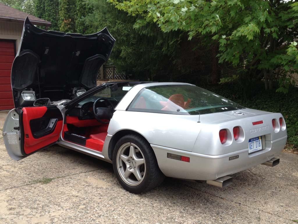 1996 corvette for sale michigan 1996 corvette coupe corvette for sale in michigan collectors. Black Bedroom Furniture Sets. Home Design Ideas
