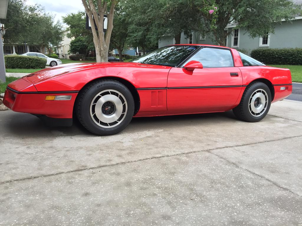1985 corvette for sale florida 1985 corvette coupe. Black Bedroom Furniture Sets. Home Design Ideas