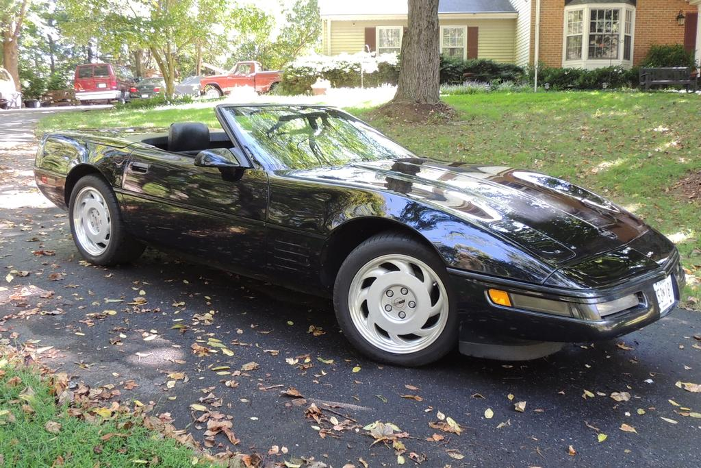 1992 corvette for sale maryland 1992 corvette. Black Bedroom Furniture Sets. Home Design Ideas