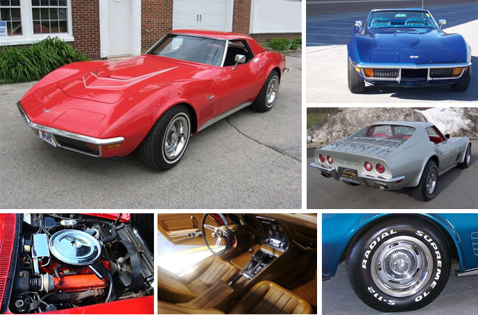 1972 Corvette Specifications