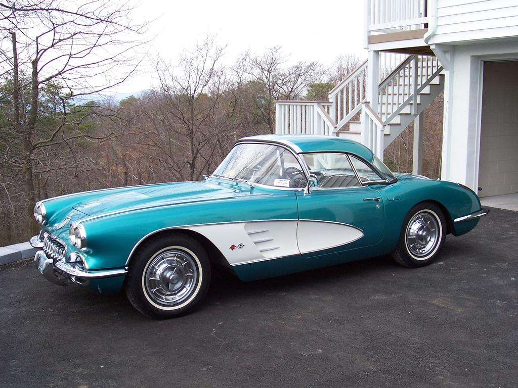 1958 corvette for sale