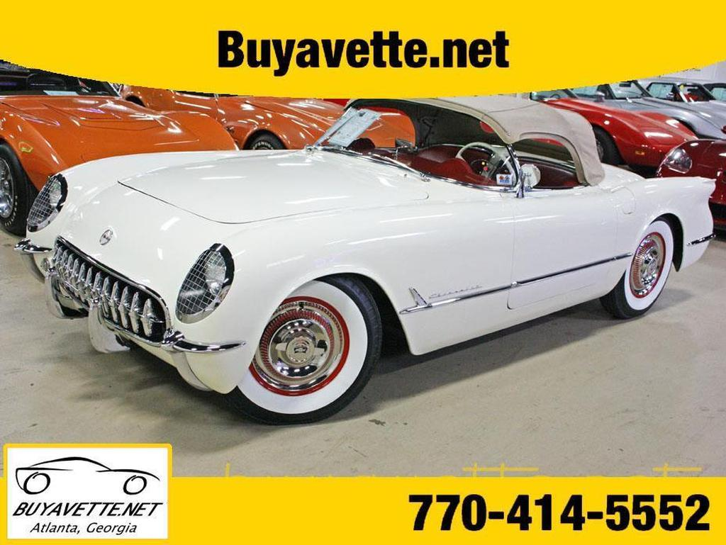 1954 corvette for sale
