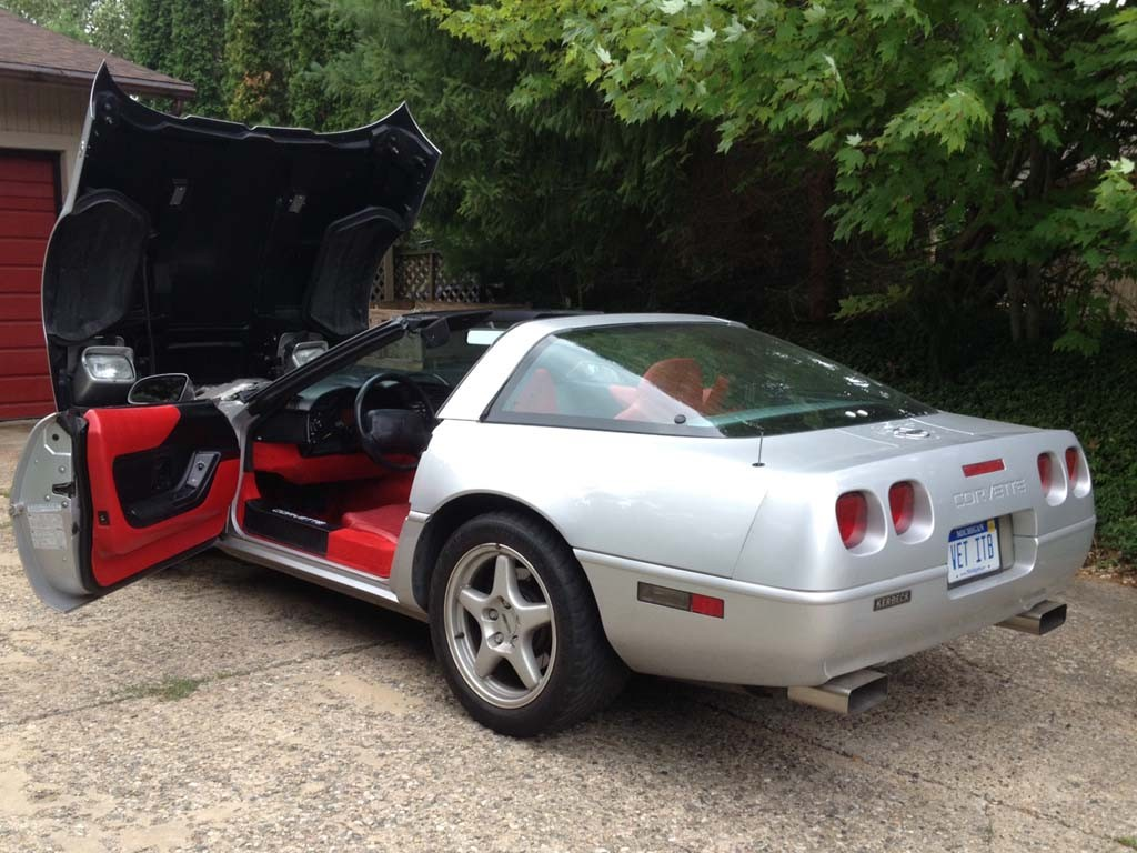 1996 Corvette For Michigan Coupe In Collectors Edition